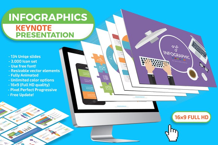 Cover Image For Infographics Keynote Presentation