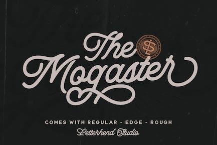 El Mogaster - Monoline Script