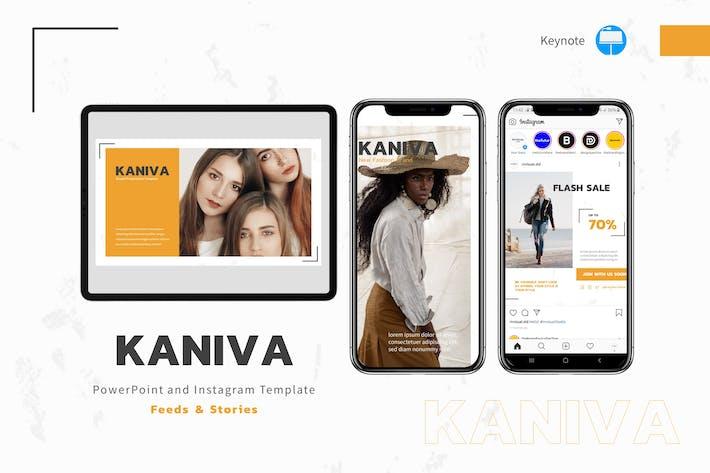 Thumbnail for Kaniva - Шаблон Keynote & Instagram