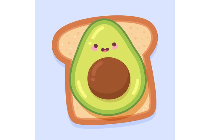 Thumbnail for Kawaii Avocado Toast