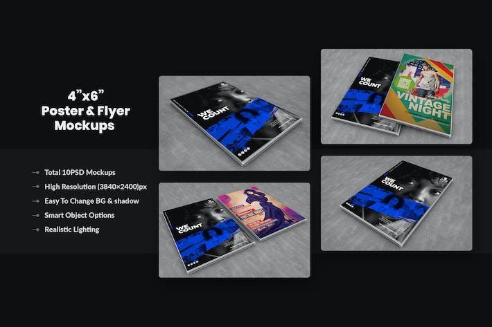 Thumbnail for Flyer, CV, Resume & Paper Mockups
