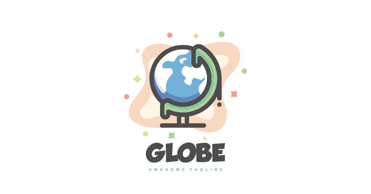 Download Simple Globe Color Line Logo by ivan_artnivora