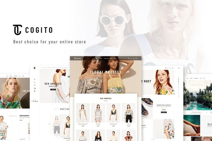 Thumbnail for Cogito - Sauberes, Minimal WooCommerce Thema
