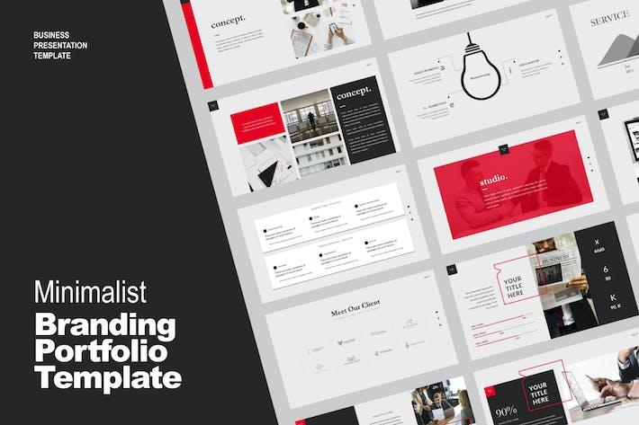 Thumbnail for Studio Business Portfolio Template - LS