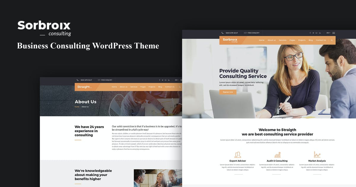 Download Sorbroix : Business Consulting WordPress Theme by shtheme