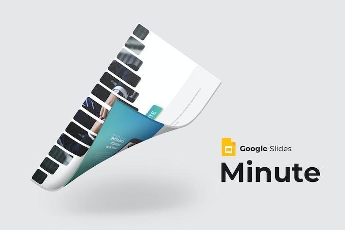 Thumbnail for Minute - Google Slide Template