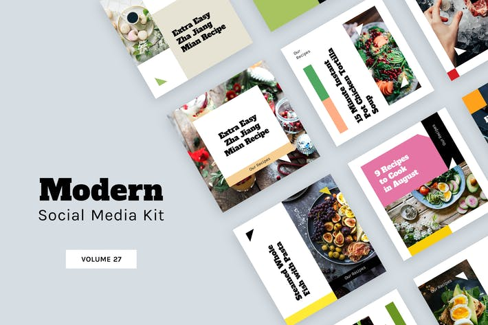 Thumbnail for Modern Social Media Kit (Vol. 27)