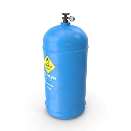 Oxígeno del tanque de gas