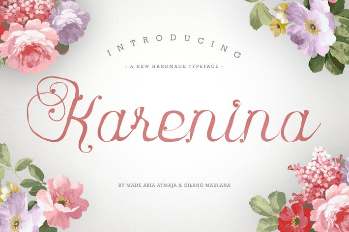 Thumbnail for Karenina Font Cute Vectors
