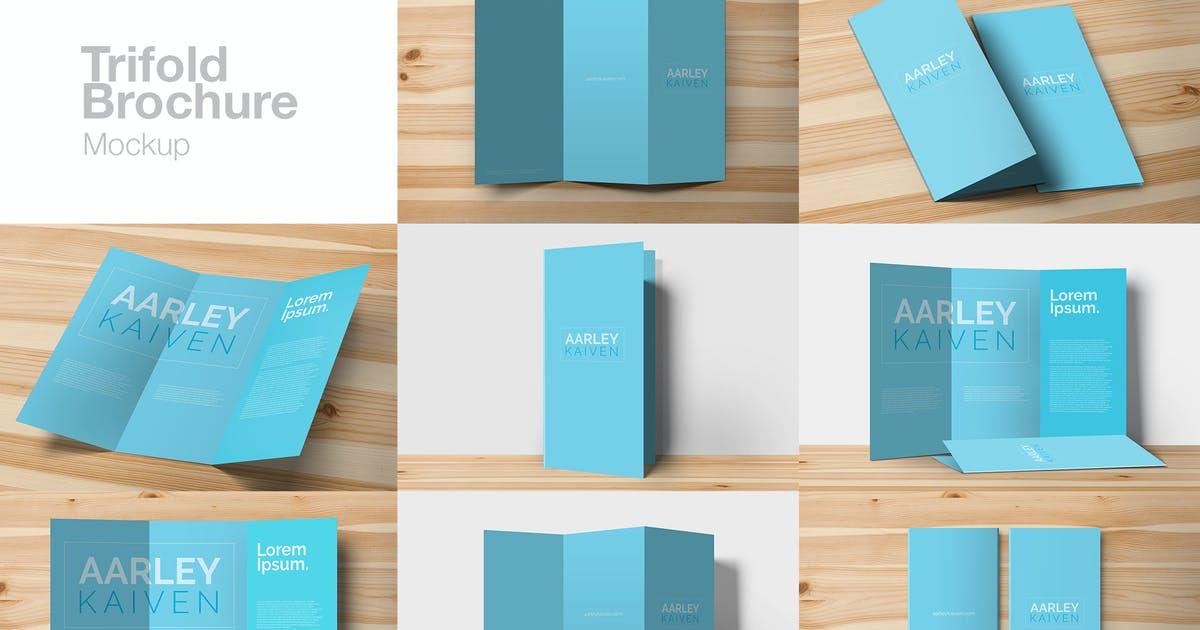 Download Trifold Mockup by aarleykaiven
