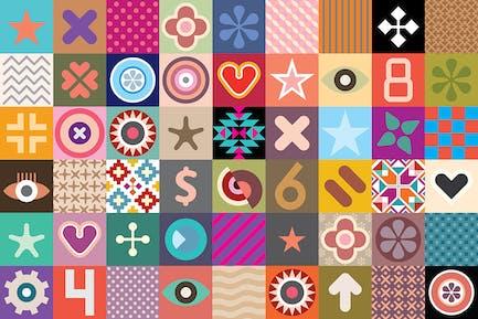 Abstract Patterns vector illustration