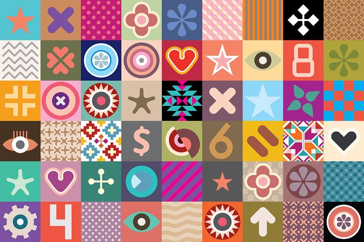 Thumbnail for Abstract Patterns vector illustration