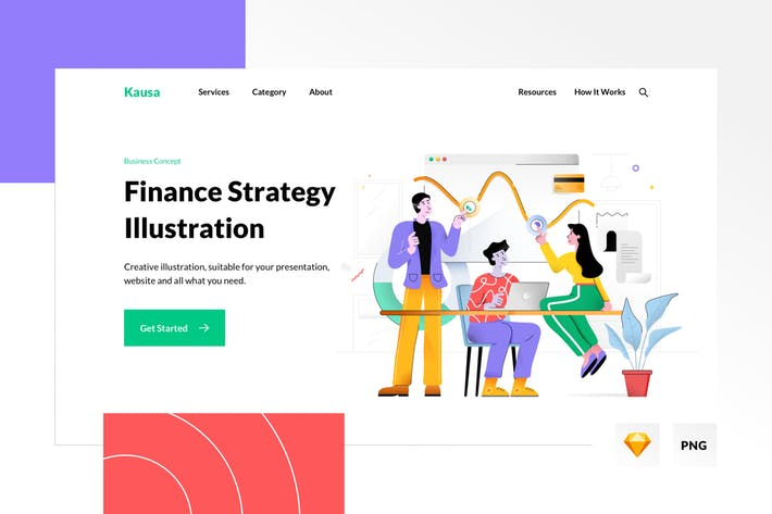 Thumbnail for Finance Strategy Illustration