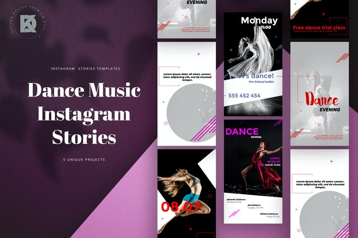 Thumbnail for Dance Music Instagram Stories