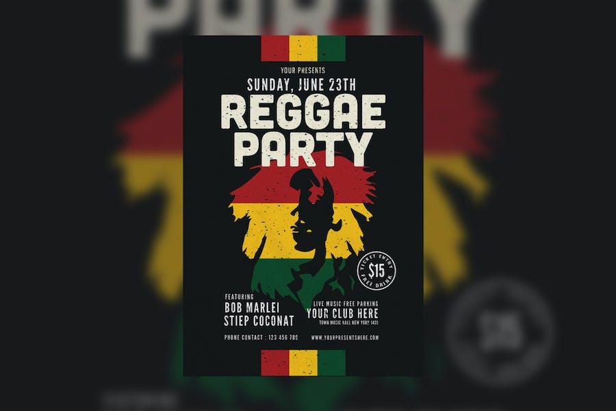 Reggae Party Flyer