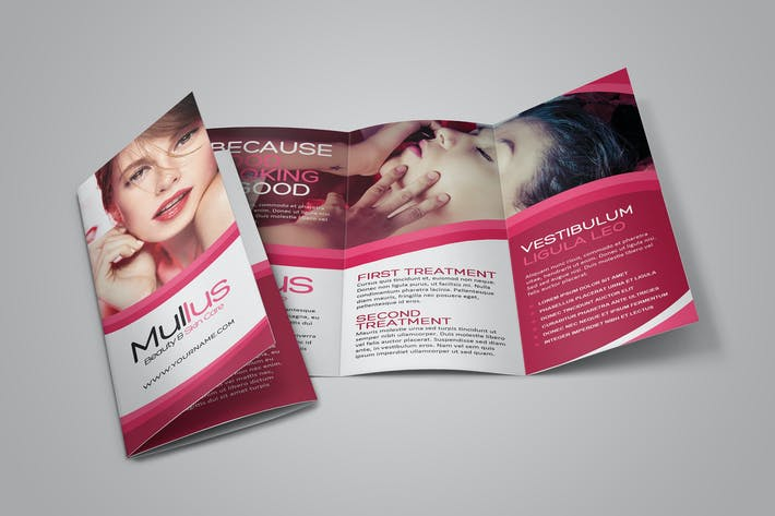Thumbnail for Beauty Care Brochure Template