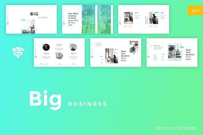 Thumbnail for Big Business - Google Slides