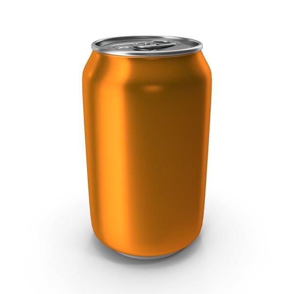 Aluminum Can 330ml Orange
