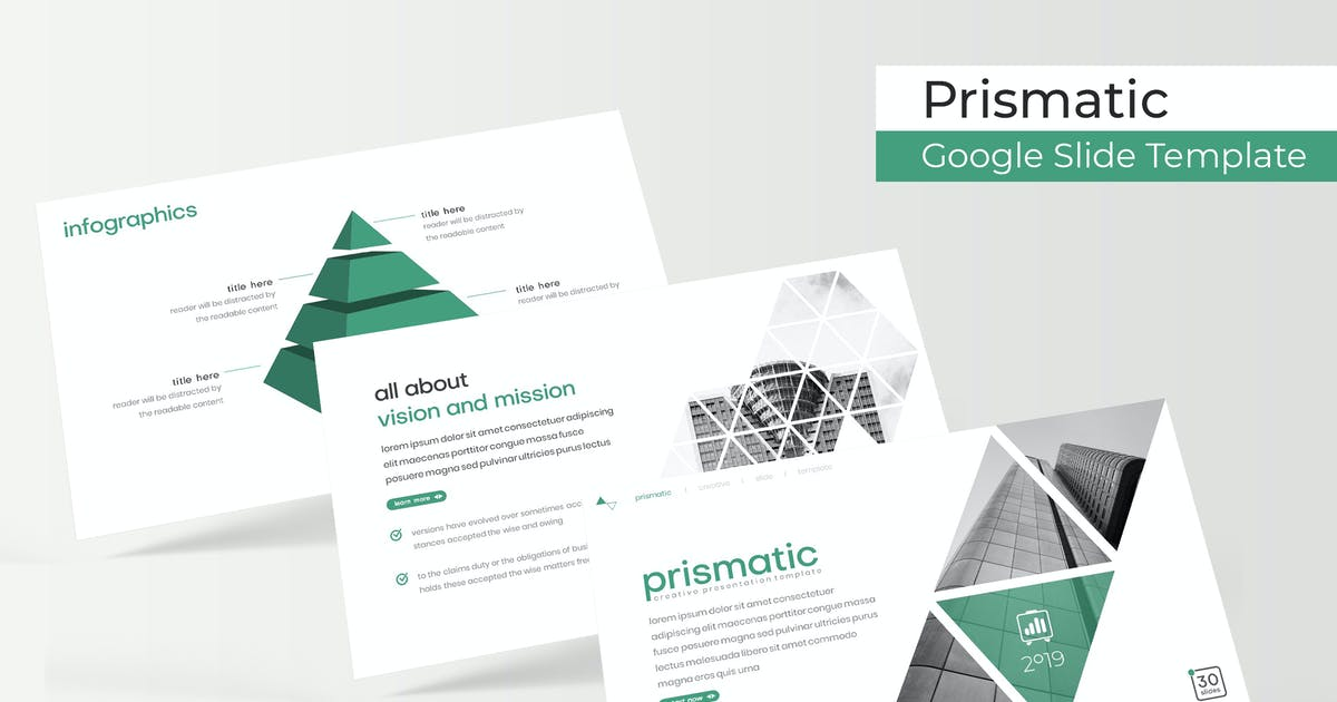 Download Prismatic - Google Slides Template by IanMikraz