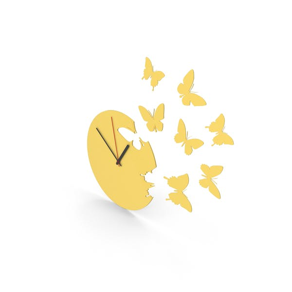 Thumbnail for Butterfly Clock