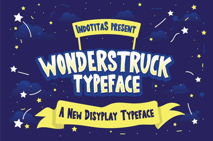 Thumbnail for Wonderstruck Typeface
