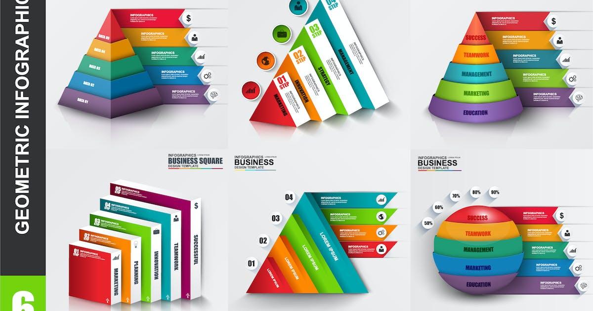 Download Geometric Infographics by alexdndz