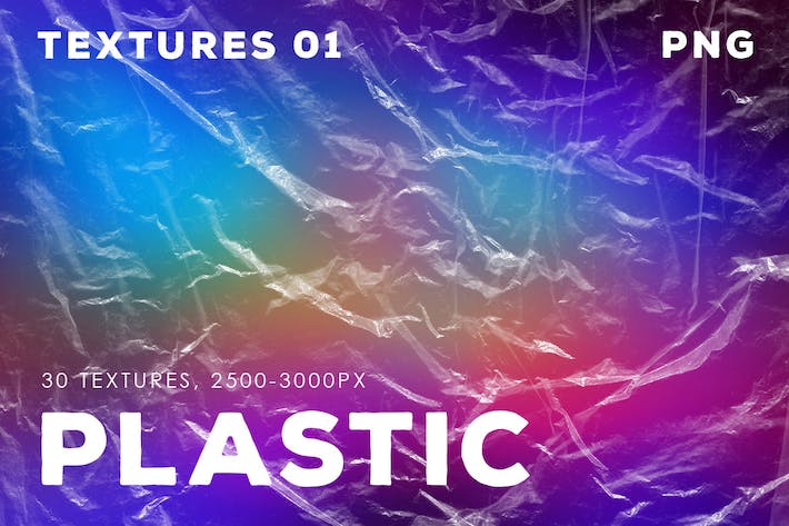 Thumbnail for 30 Plastic Texture Overlays| 01