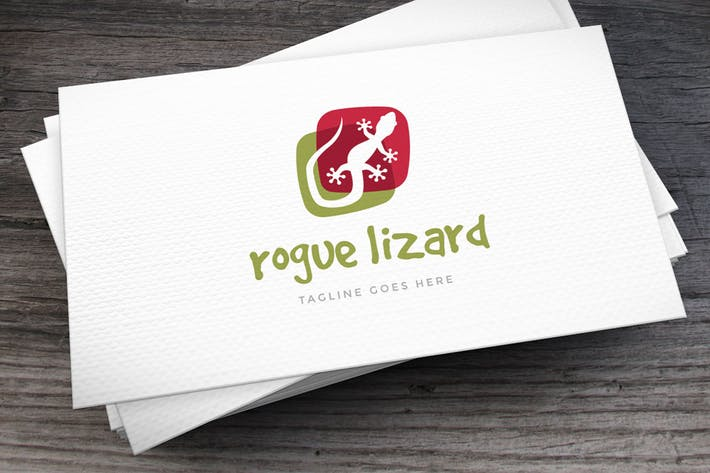 Thumbnail for Rogue Lizard Logo Template