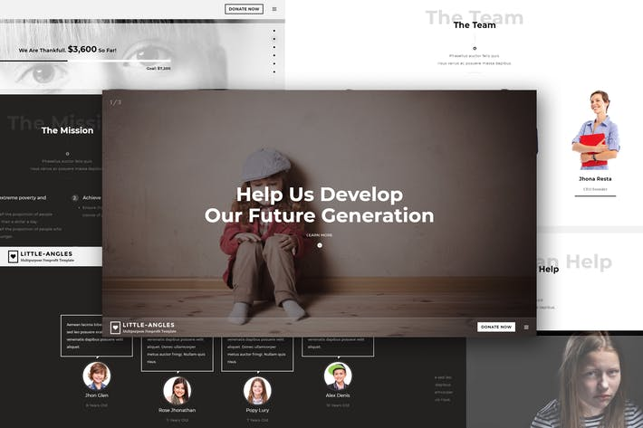 Download 5 Crowdfunding Website Templates - Envato Elements