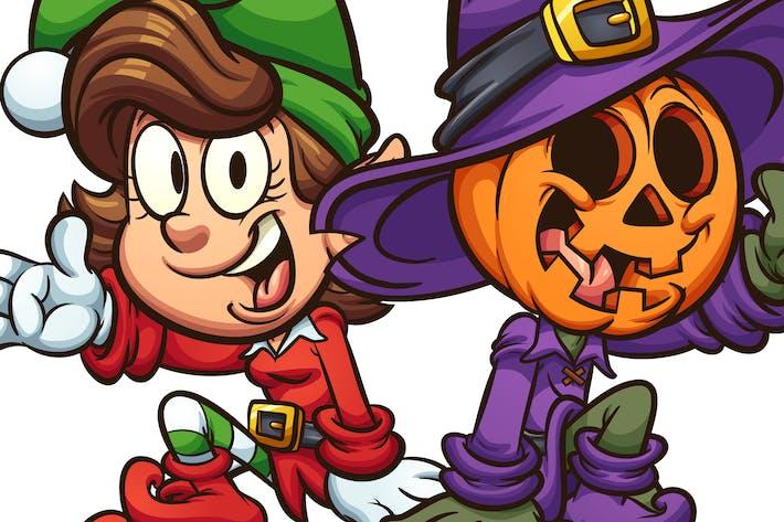 Thumbnail for Christmas and Halloween