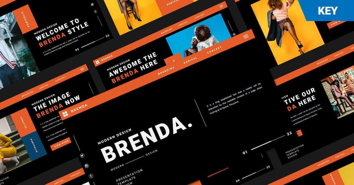 Download BRENDA Keynote Template by axelartstudio