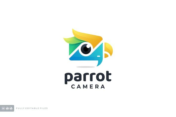 Thumbnail for Papagei mit Kamera Gradient Buntes Logo
