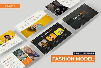 Fashion Model - Keynote Template