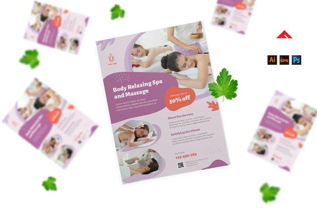 Wellness Skin Care Flyer