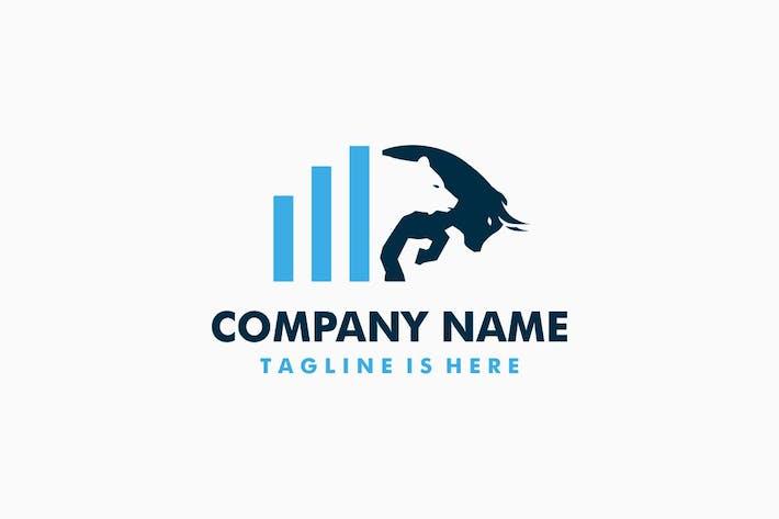 Thumbnail for Bear Bull Chart Logo