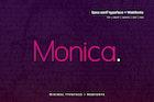 Monica - Modern Typeface + WebFonts