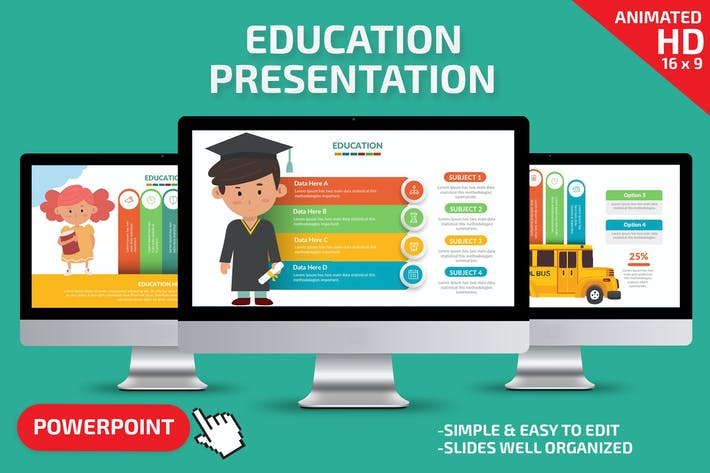 Thumbnail for Education Powerpoint Presentation