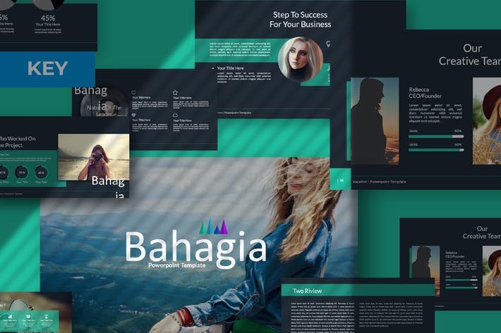 Thumbnail for Bahagia Creative Keynote