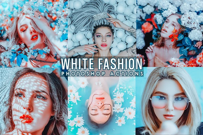 Thumbnail for White Fashion Photoshop Actions