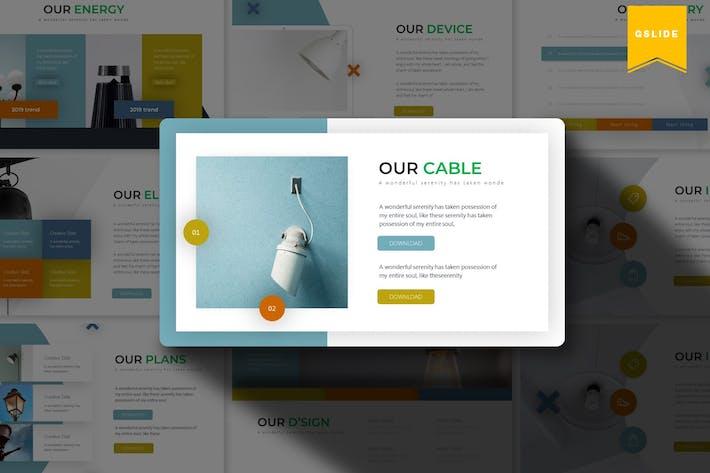 Thumbnail for Lampu | Google Slides Template