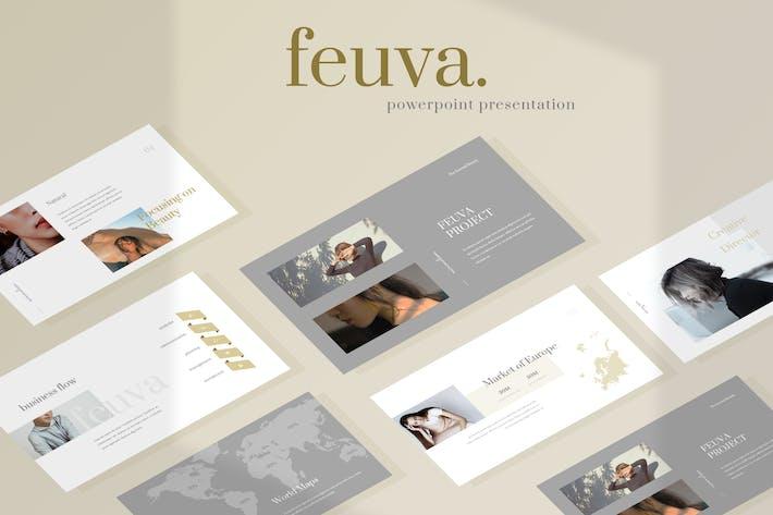 Fueva - Fashion Powerpoint Presentation