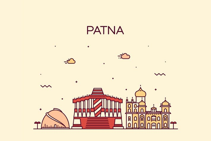 Thumbnail for Patna skyline, India