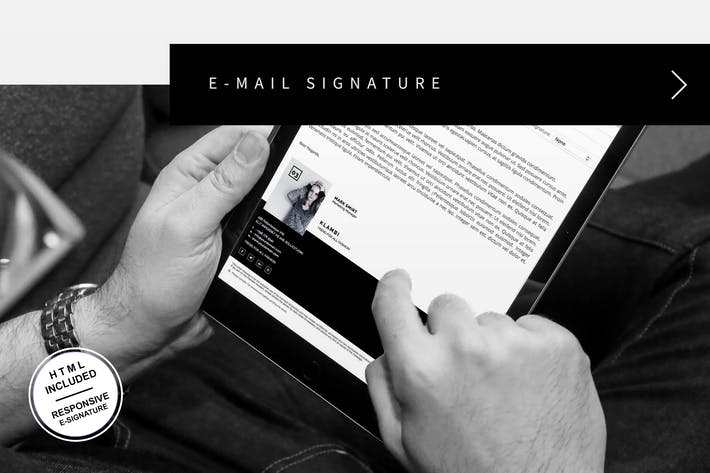 Cover Image For E-Mail Signature
