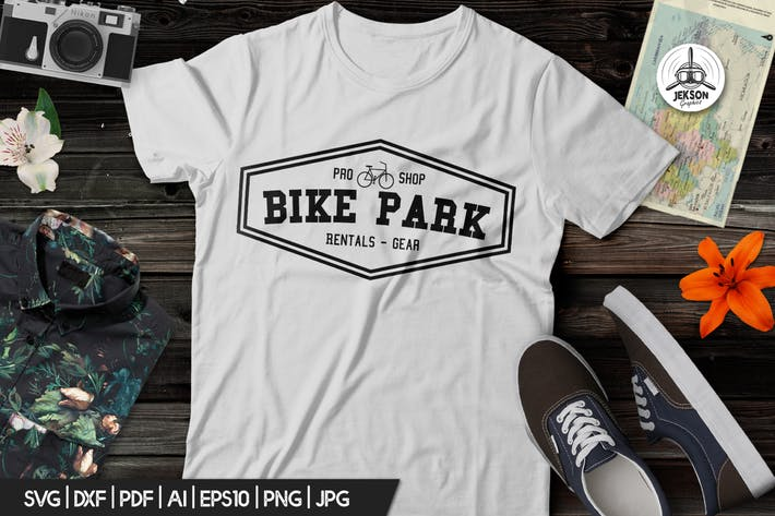 Thumbnail for Vintage Outdoor Bike Tours Logo / Badge Templates