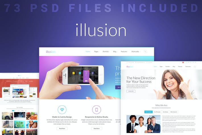 Thumbnail for illusion - PSD Multiconcept Template