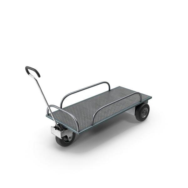 Тележка с тремя колесами