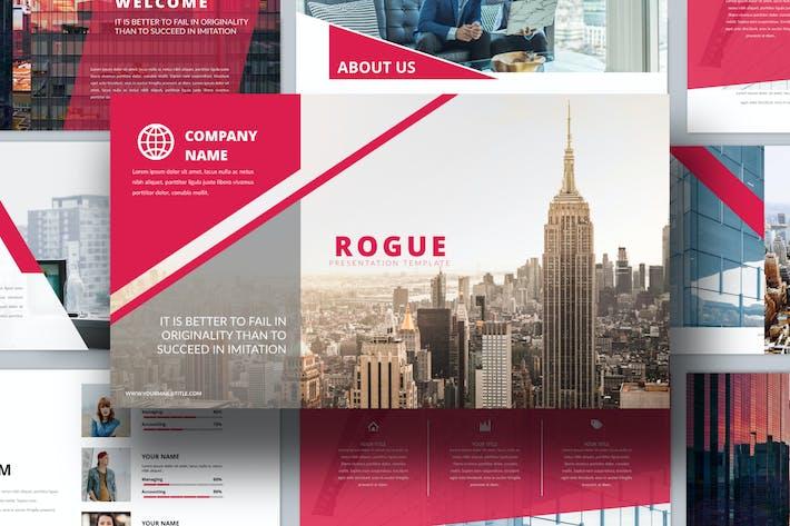Rouge - Corporate Keynote