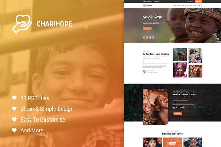 Cover Image For Charihope - Charity and Donate