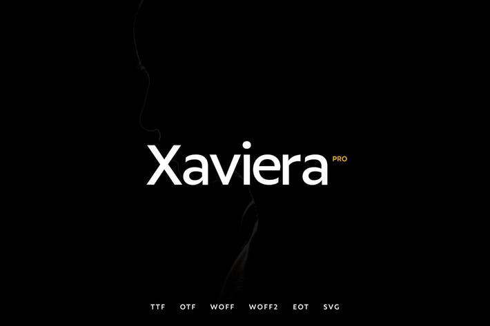 Cover Image For Xaviera - Modern Typeface + WebFonts