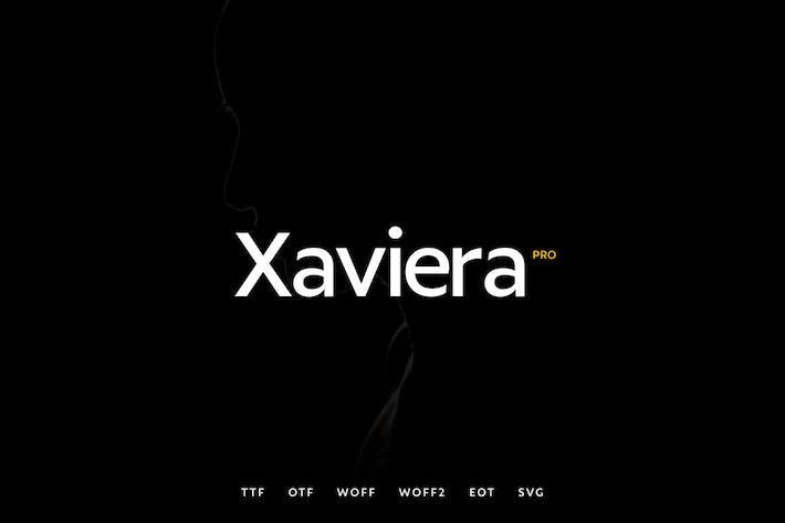 Thumbnail for Xaviera - Moderno Typeface + WebFonts
